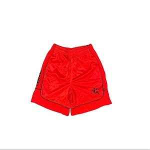 And 1 red boys basketball shorts small 6 7